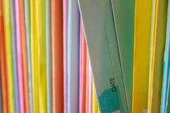 Overlappingsdossier Stock Foto's