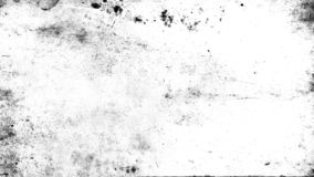 White scratched grunge background, old film effect for text. Overlays scratched grunge texture. Old vintage film effect on isolated background space for text royalty free stock images