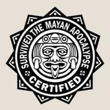Overleefde de Mayan Apocalyps Royalty-vrije Stock Foto's