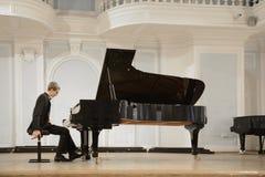 Overleg in de Rachmaninov-Zaal Royalty-vrije Stock Foto