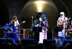 Overleg van Afrikaanse muziek in Florence, Italië royalty-vrije stock afbeelding