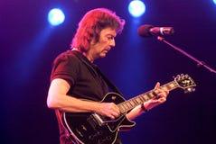 Overleg van gitarist Steve Hackett Royalty-vrije Stock Afbeeldingen