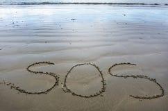 Overleving op zee - Schipbreukeling stock fotografie