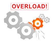 Overload concept Stock Images