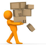 Overload Delivery Stock Image