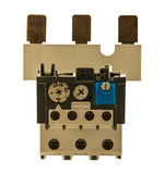 Overload protection relay Stock Photo