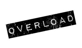 Overload rubber stamp Stock Image