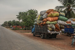 Free Overloaded Truck Royalty Free Stock Photos - 93090998