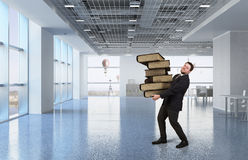 Overloaded with work Stock Photography