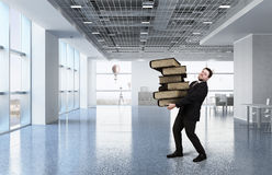 Overloaded with work Stock Photo