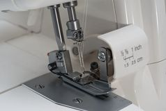 Overlock sewing machine Stock Images