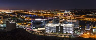 Phoenix Arizona City Overlook Royalty Free Stock Photos