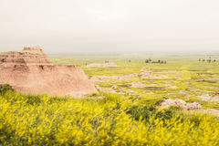 Overlook | Badlands National Park, South Dakota, USA Royalty Free Stock Photography