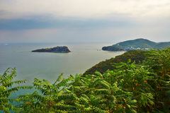Overlook the Bangchui island dalian Royalty Free Stock Photos