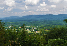Overlook in Craig County, Virginia Stock Photo