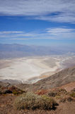 Overlook Death Valley. Look over the Death Valley National Park at Dante's View Royalty Free Stock Photography