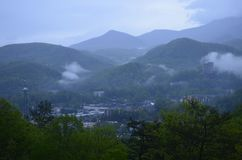Overlook Gatlinburg Tennessee stock photos