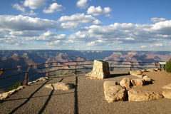 Overlook-Grand Canyon South Rim Royalty Free Stock Photos