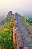 Overlook the Great Wall sunrise scenery Stock Photography