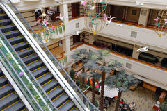 Overlook hall of jinyan hotel Royalty Free Stock Photo