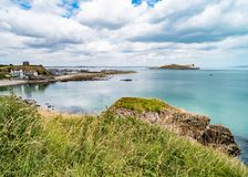 Overlook at Howth in Dublin royalty free stock images