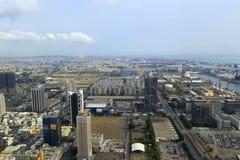 Overlook kaohsiung city Stock Photography