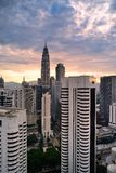 Overlook of  KLCC Tower Royalty Free Stock Image