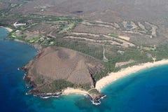 Overlook Makena Maui Hawaii Royalty Free Stock Photography