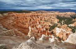 Overlook over the bryce canyon national park, utah Royalty Free Stock Photos