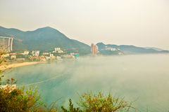 Overlook Repulse Bay in fog Stock Image