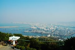 Overlook of Sanya city,China Stock Photos