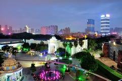 Free Overlook Shenzhen Windows Of The World Night Stock Photo - 53244750