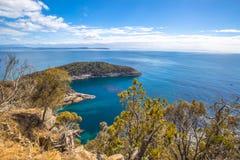 Bruny Island overlook Stock Photo