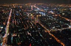Overlook Taipei Stock Image
