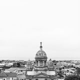 Overlook view of Oamaru Royalty Free Stock Photo