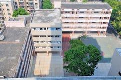 Overlook Xiangzhou Primary school Royalty Free Stock Image