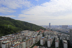 Overlook xianyue hill residential area Stock Photography