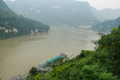 Overlook the Yangtze River Royalty Free Stock Image