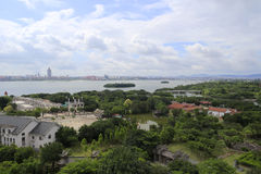 Overlook the yuanboyuan park Stock Images
