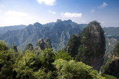 The Zhangjiajie National Forest Park Royalty Free Stock Photography