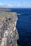 Overlooking the Atlantic ocean, Ireland Royalty Free Stock Photo