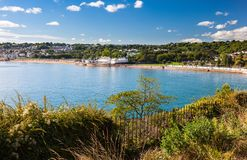 Goodrington Sands Devon England UK Royalty Free Stock Images