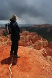 Overlooking Bryce Canyon Stock Image