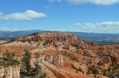 Overlooking Bryce Canyon National Park, UT Royalty Free Stock Images