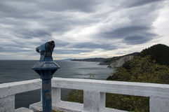 Overlooking the Cantabrian Sea Royalty Free Stock Image