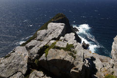 Overlooking Cape Point Stock Photography