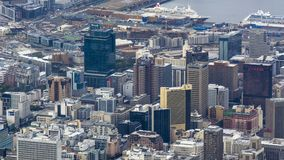 Free Overlooking Cape Town, South Africa Royalty Free Stock Image - 112628186