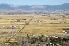 Overlooking the Carson River Valley Stock Images