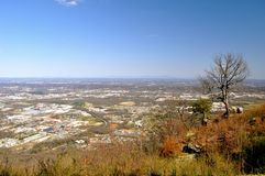 Overlooking Chattanooga Royalty Free Stock Photography