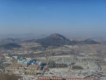 Overlooking the city of Xingcheng in northern China Royalty Free Stock Photo